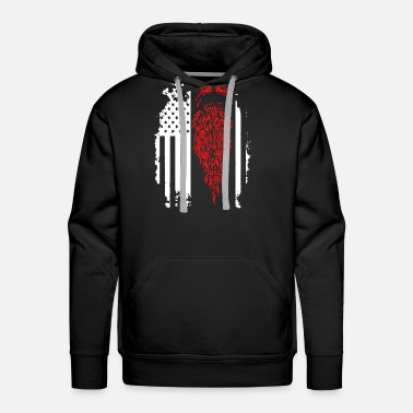 Beard Beard Flag Shirt - Men's Premium Hoodie
