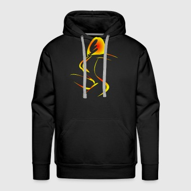 Female Hero female - Men's Premium Hoodie