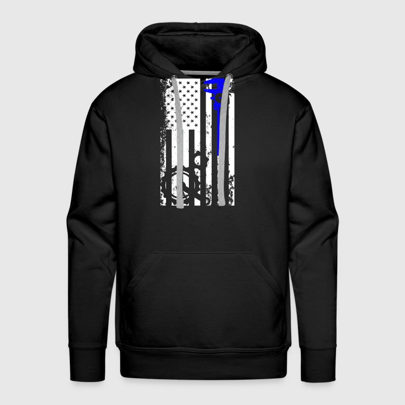 Machinist Flag Shirt - Men's Premium Hoodie