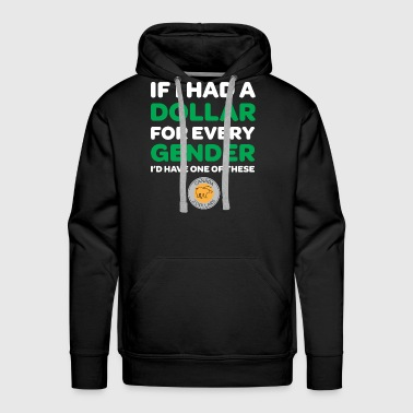 Gender Gender Toonie - Men's Premium Hoodie