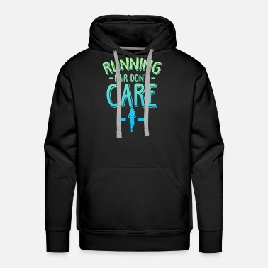 Marathon Jogging cardio workout fitness sport - Men's Premium Hoodie
