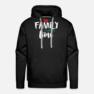 Evening Familytime Family Family Gift - Men's Premium Hoodie