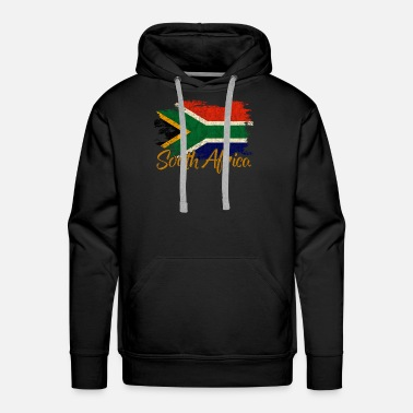 I Love My South Africa - Men's Premium Hoodie