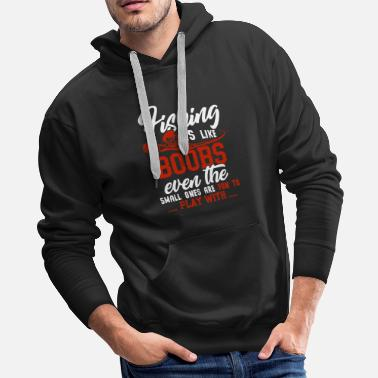 Deep Sea Fishing Fishing - Men's Premium Hoodie