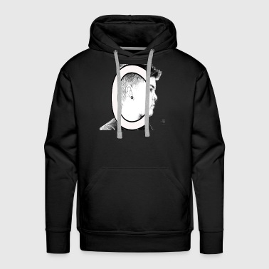 Sketch of a boy - Men's Premium Hoodie