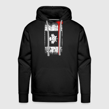 Canadian firefighter - Awesome firefighter t - s - Men's Premium Hoodie