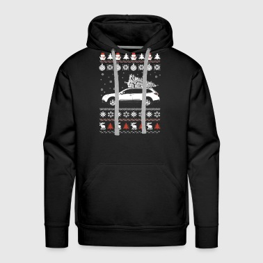 Car - Awesome Christmas sweater for car lovers - Men's Premium Hoodie