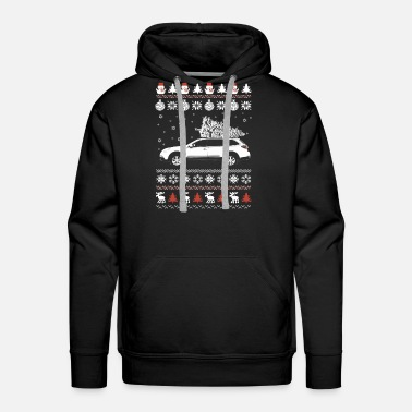 Streaker Car - Awesome Christmas sweater for car lovers - Men's Premium Hoodie