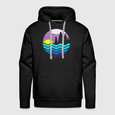 Northern-Sunset - Men's Premium Hoodie