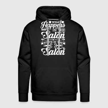 Salon Shirt - Men's Premium Hoodie