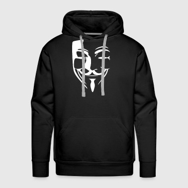 Anonymous ANONYMOUS HACKER - Men's Premium Hoodie