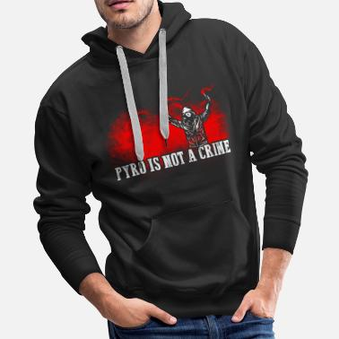 Pyrotechnics ACAB Pyro is not a crime - Men's Premium Hoodie