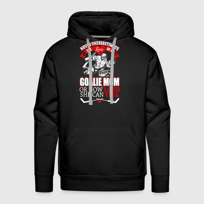 GOALIE MOM shirt - Men's Premium Hoodie