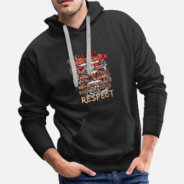 Gamer Respect - Men's Premium Hoodie