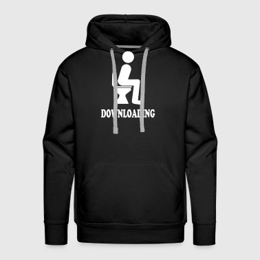 Download Downloading - Men's Premium Hoodie