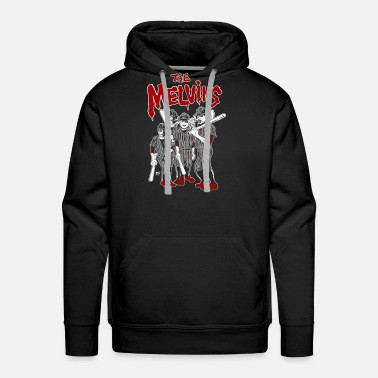 Seattle The melvins - Freaking awesome baseball t-shirt - Men's Premium Hoodie
