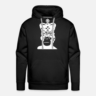 Animal Ape King - Men's Premium Hoodie