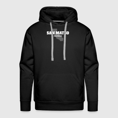 CALIFORNIA SAN MATEO US STATE EDITION - Men's Premium Hoodie