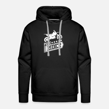 Dirt Bike Rider Motocross - Men's Premium Hoodie