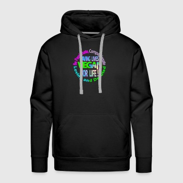 BE passionate compassionate loving and devoted - Men's Premium Hoodie