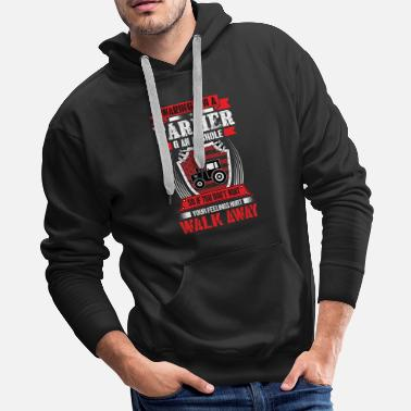 Farmers Wife Farmer - Men's Premium Hoodie