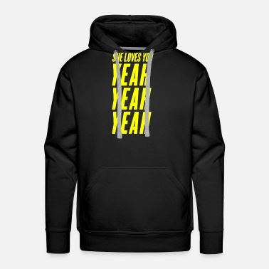 She SHE LOVES YOU - Men's Premium Hoodie