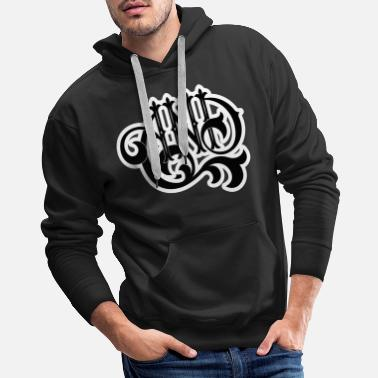 Lettering AND Lettering - Men's Premium Hoodie