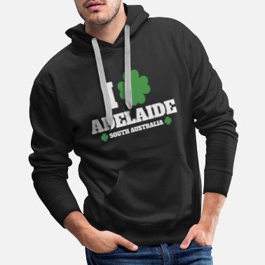 I Love Dance I Love Irish Adelaide, South Australia - Men's Premium Hoodie