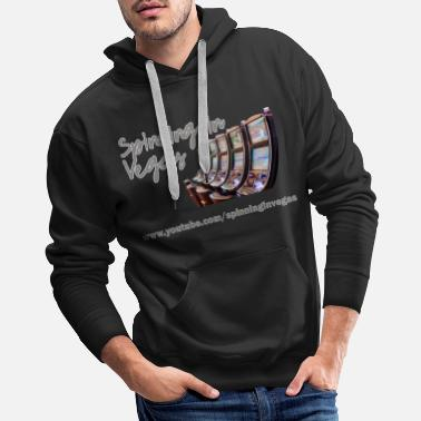 Vegas Spinning in Vegas Clothing Line - Men's Premium Hoodie