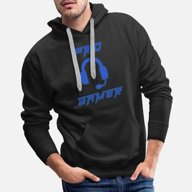 Computer Science Pro Gamer Gaming Headset Gamer - Men's Premium Hoodie