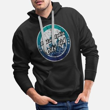 Philadelphia Philadelphia city kid worn look - Men's Premium Hoodie