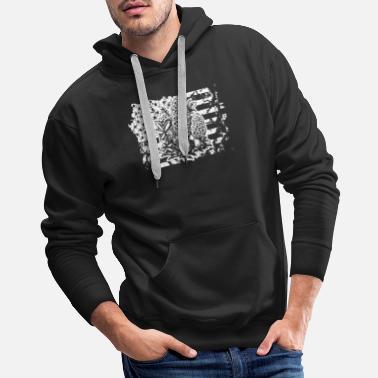 ae236f447491 Hunt Mushroom Hunting Flag Shirt - Men  39 s Premium Hoodie