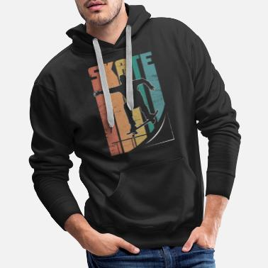 Grind Skateboard Pipe Sun Crew Ollie Cool Road - Men's Premium Hoodie