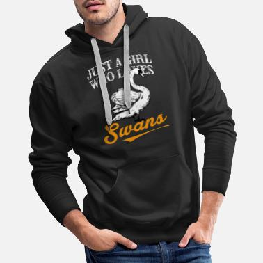 Right Swans T-Shirts For Girls - Men's Premium Hoodie