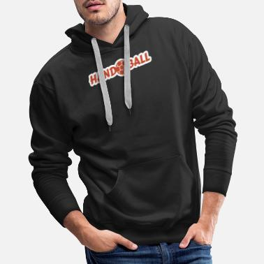 High Jump Handball Ball Kontur - Men's Premium Hoodie