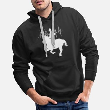 Cardio Horse Riding - Men's Premium Hoodie