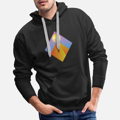 1b8c2dfe6df0 Neon Pyramid - Aesthetic - Vintage Vaporwave Gift Men s Premium ...