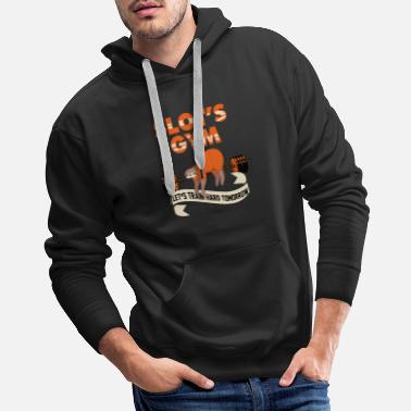 Monday Sloth Lazy Chill Out Sunday Monday Morning Gift - Men's Premium Hoodie