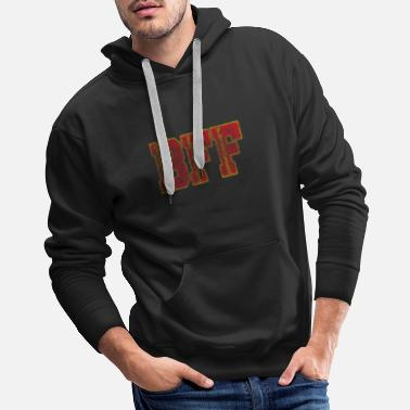 Soul Mate Friendship girlfriends BFF gift - Men's Premium Hoodie