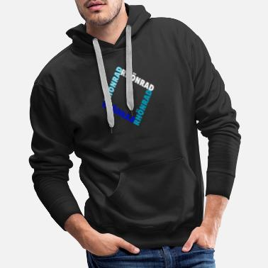 Victorious Rhönrad I Athlete I Team I Gift I Club - Men's Premium Hoodie
