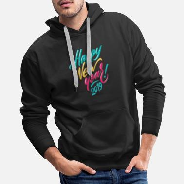 New Year 2019 New Year New Year New Year's Eve Gift Idea - Men's Premium Hoodie