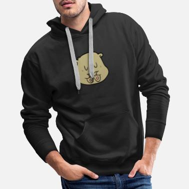 Brown bear, brown bear, teddy funny gift - Men's Premium Hoodie