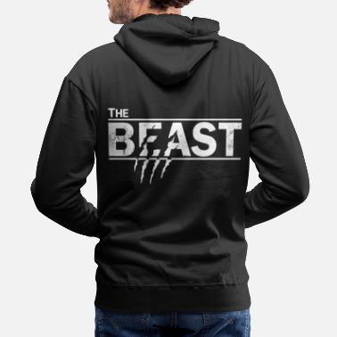Romantic The beauty and the beast - Men's Premium Hoodie