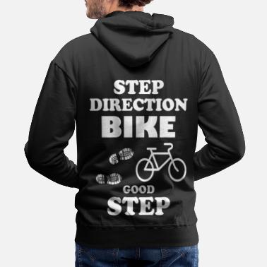 Trekking Step to bike gift idea - Men's Premium Hoodie