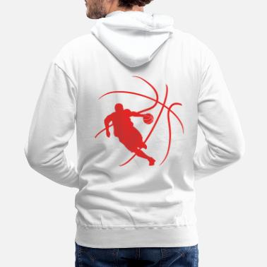 B-ball player - Men's Premium Hoodie