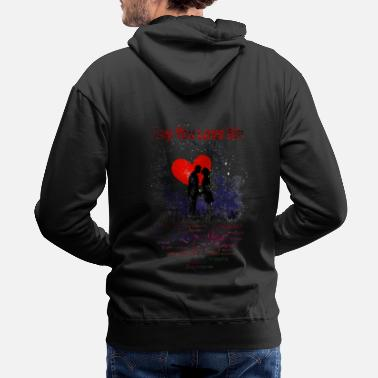 Feeling Say You Love Me - Men's Premium Hoodie