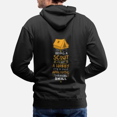 Scout SCOUTS: Being A Scout - Men's Premium Hoodie