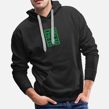 Food Single Chef Cook Gift - Men's Premium Hoodie