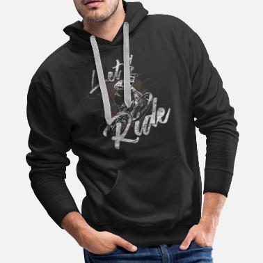 Wheel Bike hobby - Men's Premium Hoodie