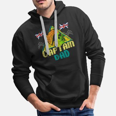 London England UK Father's Day - Men's Premium Hoodie